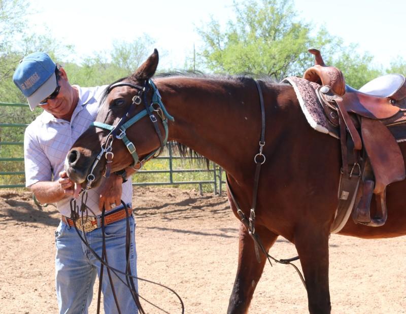 Tony Diaz with horse
