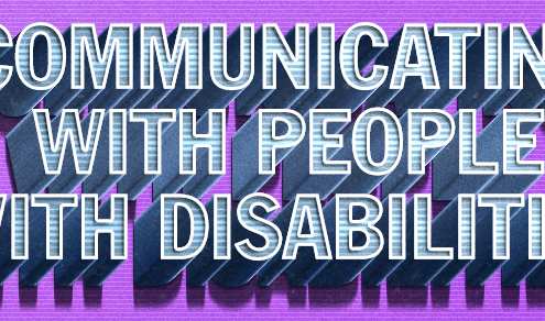 Communicating with People with Disabilities