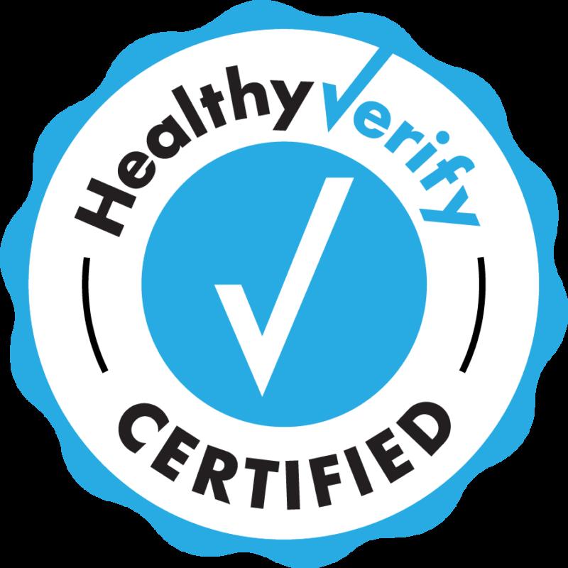 Healthy Verify Seal